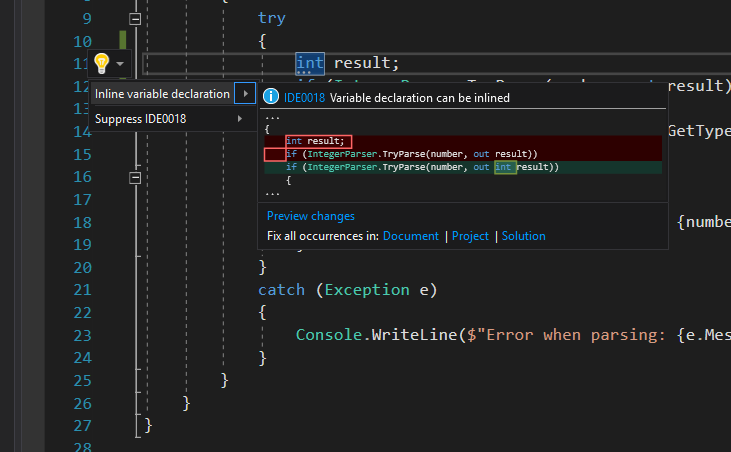 C# 7 0 and Visual Studio 2017 RC
